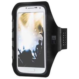 Case Logic CL-AR-MD-100-BK Black Universal Active Armband For iPhone 6/Galaxy S4/S5