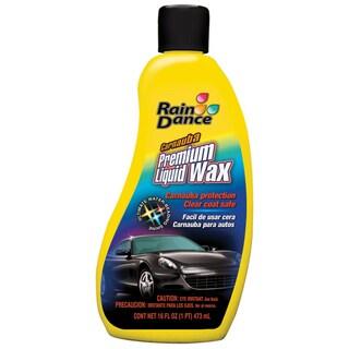 Rain Dance 2510 16 oz. Carnauba Premium Liquid Car Wax