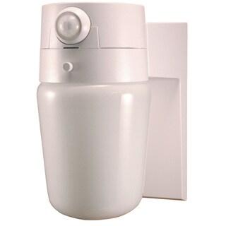 Heathco HZ-5610-WH 1 Bulb 60 Watt White Incandescent Entry Light