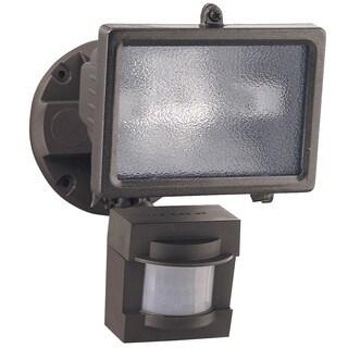 Heathco HZ-5511-BZ 1 Bulb 150 Watt Bronze Halogen Motion Flood Light