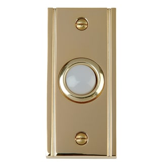 Thomas & Betts DH1630L Carlon Brass Finish Wired Brass Push Button