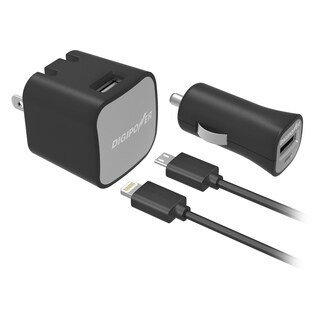 Digipower ISPK2ML 2 Amp 12 Watt Wall And Car Charger Kit