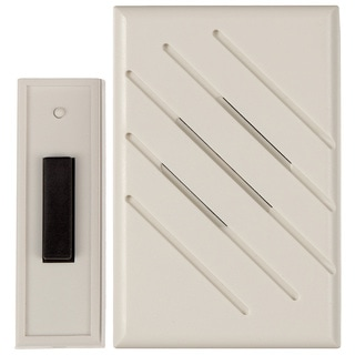 Carlon Lamson & Sessons RC3190D White Wireless Battery Doorbells