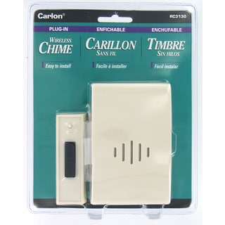 Carlon Lamson & Sessons RC3130 Plug-In Wireless Chime