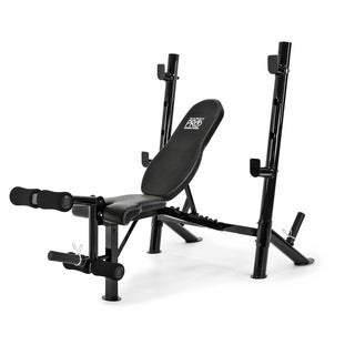 Marcy Mid Size Bench - Black