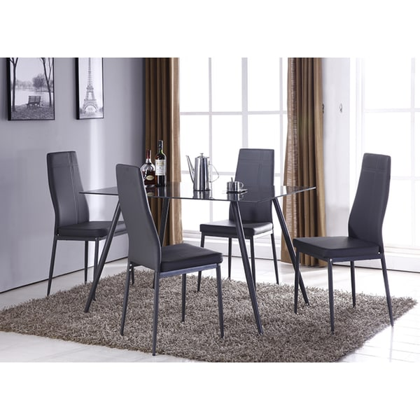 K&B Grey Dining Chairs (Set of 2)