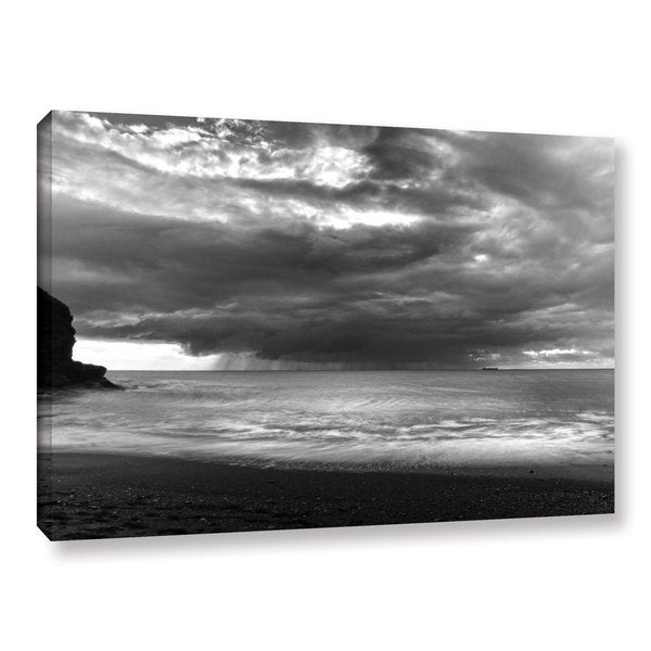 Chris Tuff's 'Boat On The Horizon' Gallery Wrapped Canvas
