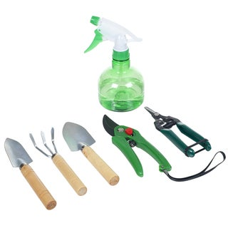 Pure Garden 7 Piece Indoor Garden Tool Set - N/A