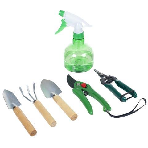 Pure Garden 7 Piece Indoor Garden Tool Set