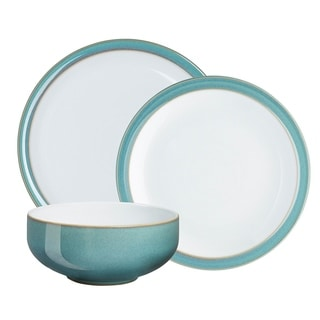 Denby Azure 12-piece Dinnerware Set  sc 1 st  Overstock.com & Denby Jet Grey 12-piece Dinnerware Set - Free Shipping Today ...