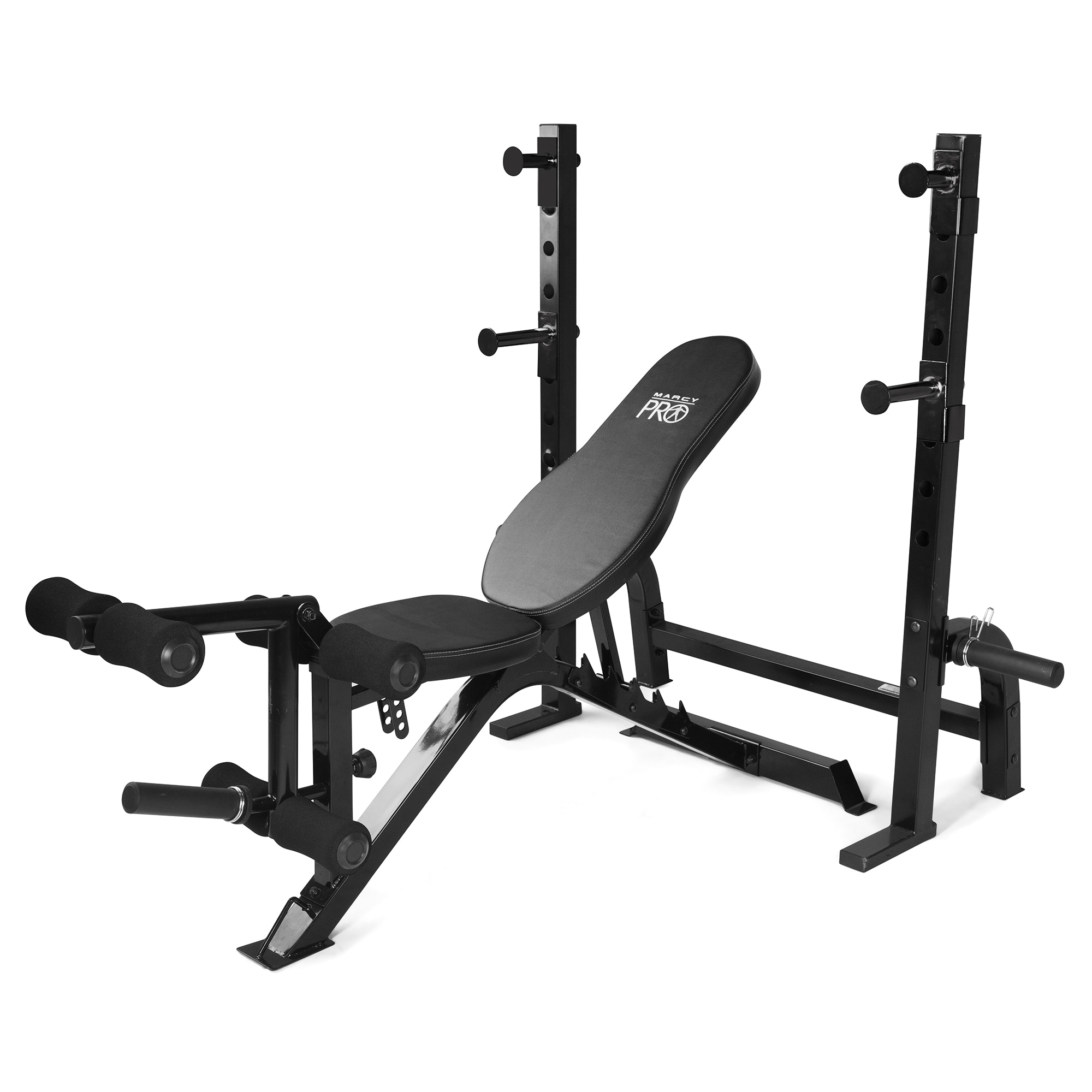 Marcy Olympic Heavy-Duty Steel (Silver) Weight Bench (Oly...