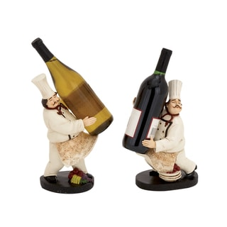 The Delightful Chef Wine Holder 2 Assorted