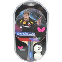 Butterfly Timo Boll 1000 ITTF Approved Sponge and Pan Asia Rubber Table Tennis Racket