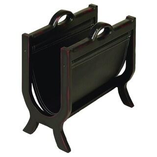 Carbon Loft Mackintosh Leather Magazine Holder