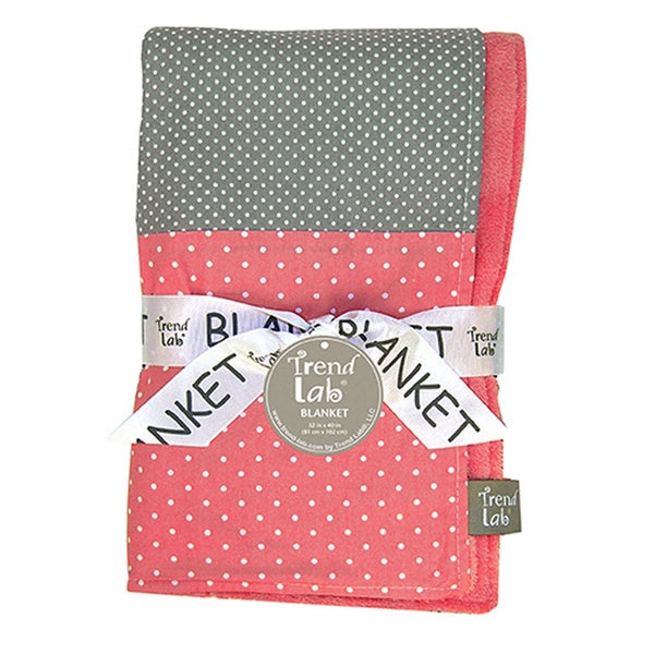 Shop Trend Lab Baby Cocoa Coral Multi Patched Receiving