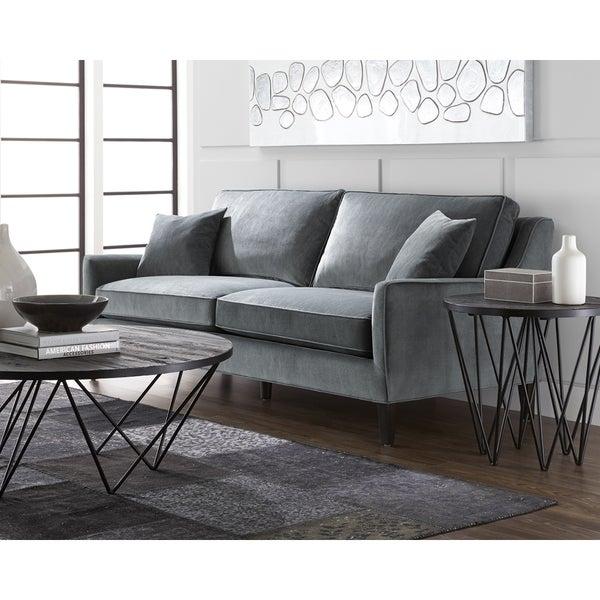 Sunpan Hanover Granite Fabric Sofa. Opens flyout.