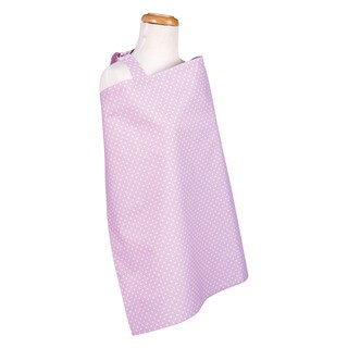 Trend Lab Orchid Bloom Dot Baby Nursing Cover