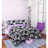 Seventeen Midnight Poppies 3-piece Comforter Set