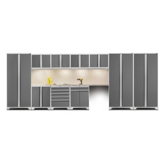 NewAge Pro Series 12-piece Set With Stainless Steel Worktops