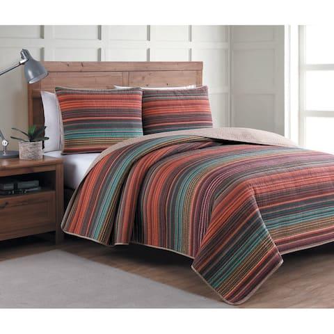 Porch & Den Robledo Reversible Quilt Set - Multi-color