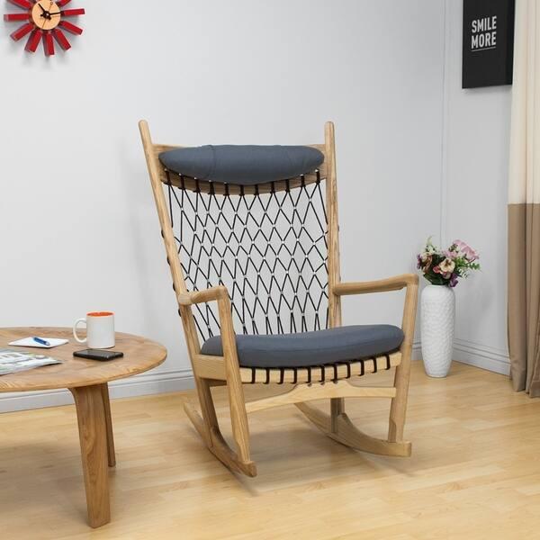 Super Shop Mod Made Mid Century Modern Dream Rocking Lounge Chair Lamtechconsult Wood Chair Design Ideas Lamtechconsultcom