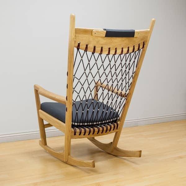 Terrific Shop Mod Made Mid Century Modern Dream Rocking Lounge Chair Lamtechconsult Wood Chair Design Ideas Lamtechconsultcom