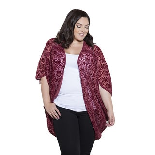 Sealed with a Kiss Women's Plus Size Julia Cardigan