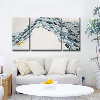 Ready2HangArt Norman Wyatt Jr. 'Goldfish' Canvas Set|https://ak1.ostkcdn.com/images/products/11764288/P18678054.jpg?impolicy=medium
