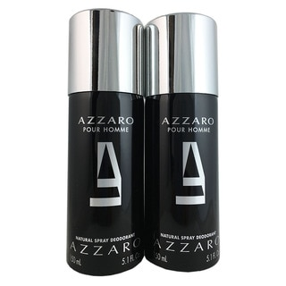Azzaro 5.1-ounce Men's Deodorant Spray (Pack of 2)