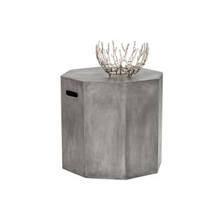 Sunpan Ollo Anthracite Grey End Table