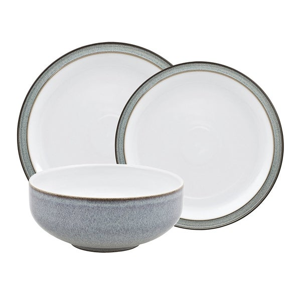 Denby Jet Grey 12-piece Dinnerware Set  sc 1 st  Overstock.com & Denby Jet Grey 12-piece Dinnerware Set - Free Shipping Today ...