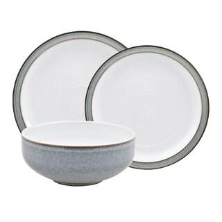 Denby Jet Grey 12-piece Dinnerware Set