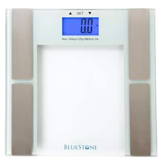 Bluestone Digital Body Fat Scale with Tempered Glass Platform|https://ak1.ostkcdn.com/images/products/11764427/P18678210.jpg?impolicy=medium
