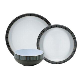 Denby Jet Stripes 12-piece Dinnerware Set