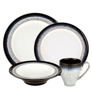 Halo Stoneware 4-piece Place Setting