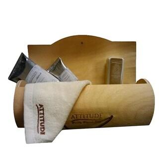 Attitude Line Wood Cylinder 2-piece Manicure Gift Set