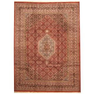 Herat Oriental Indo Hand-knotted Bidjar Wool Rug (8'10 x 12')