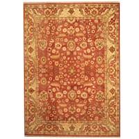 Handmade Herat Oriental Indo Mahal Wool Rug  - 9' x 12'5 (India)