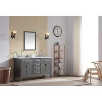 Ari Kitchen and Bath Danny 60-inch Double Bathroom Vanity Set