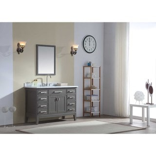 Ari Kitchen and Bath Danny Single Bathroom 48-inch Vanity Set