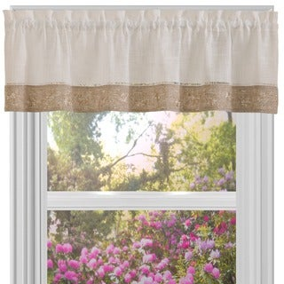 Achim Oakwood Window Curtain Valance