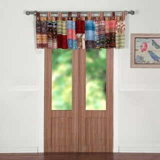 Greenland Home Fashions Bohemian Dream Window Valance