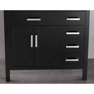 Bosconi SB-R2105BMC 35-inch Black Single Vanity Cabinet