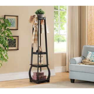 K & B CR1436 Coat Rack With Storage (4 options available)
