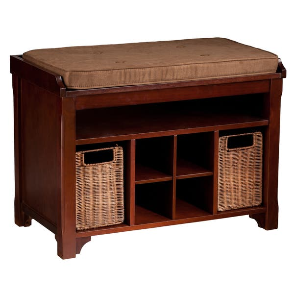 Terrific Shop Harper Blvd Fallon Espresso Storage Bench On Sale Lamtechconsult Wood Chair Design Ideas Lamtechconsultcom