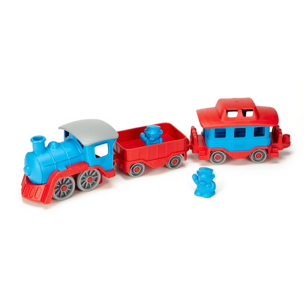 Green Toys Blue and Red Recycled Plastic Train
