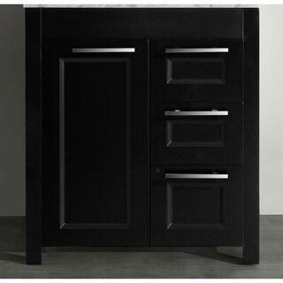 Bosconi SB-267-1BMC Black 29-inch Main Vanity cabinet