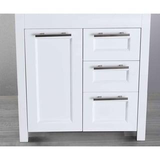 Bosconi SB-267-1WHMC 29-inch White Main Cabinet