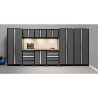 NewAge Bold Series 10-piece Set Contains 3 Lockers and Bamboo Top