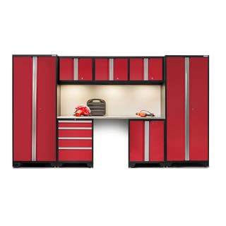 NewAge Bold Series 8 Piece Stainless Steel Cabinet Set